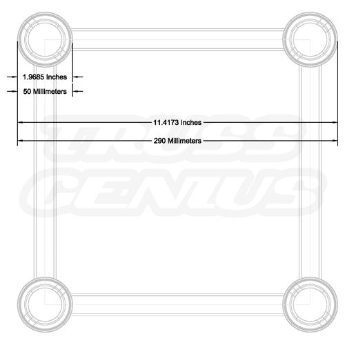 F34 Truss Dimensions