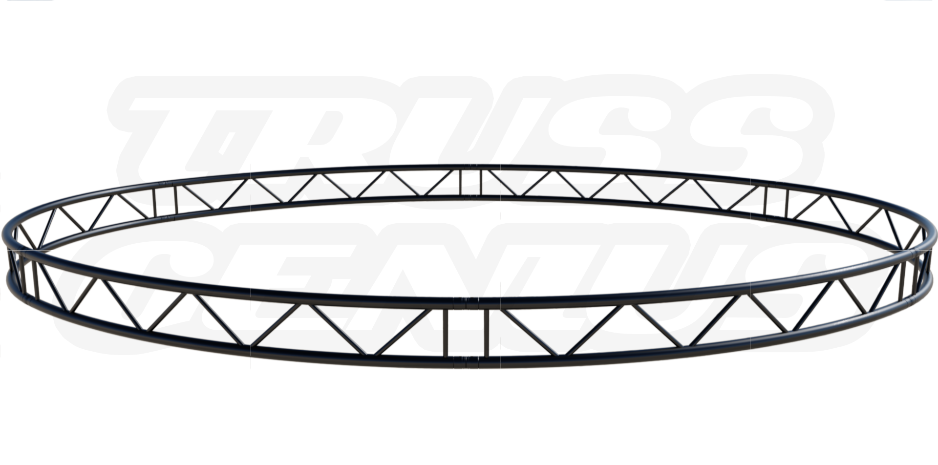 Oval Truss Circle