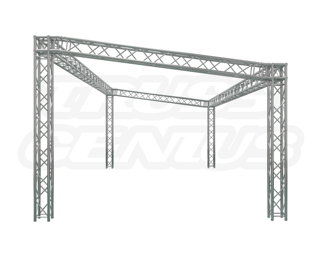 Sloped Truss Booth