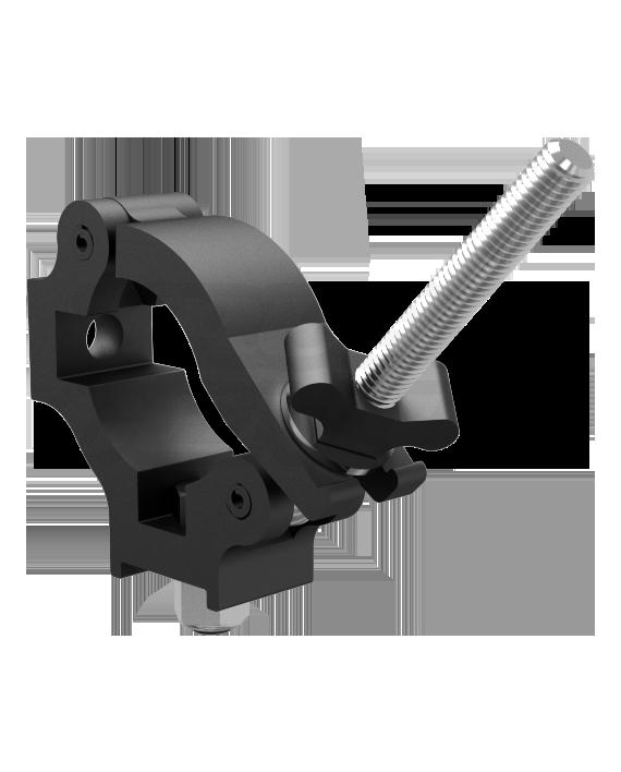 Black Quad Coupler 1.5 Clamp QC1.5B