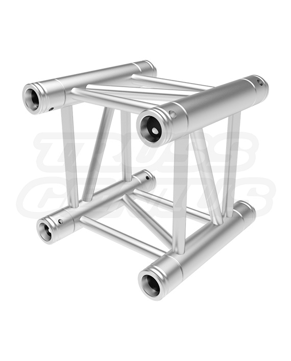 "0.95-Foot Truss Straight Section, SQ-4109-29 11.41"" F34 Square Aluminum Truss F34029 