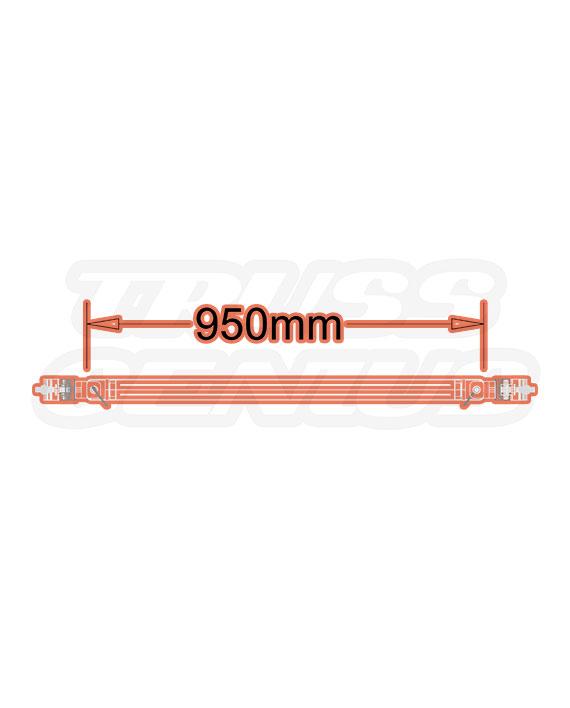 ST-5050 Truss Brace Dimensions