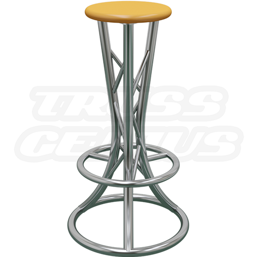 Curved Truss Bar Stool