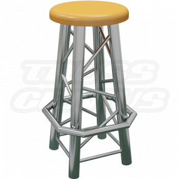 Straight Truss Bar Stool
