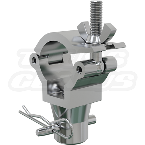 JR Coupler Clamp | 1.37-Inch Light Duty Clamp with Half Coupler Designed To Be Attached to F23-F24 Trussing