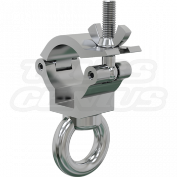 JR Eye Clamp | 1.37-Inch Light Duty Clamp with Lifting Eye Nut for F23-F24 Trussing and 35mm Tubing CJS3501G