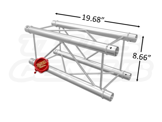 SQ-F24050 F24 Square Aluminum Truss Dimension F24050