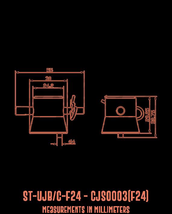ST-UJB/C-F24 CJS0003(F24) Detailed Drawing