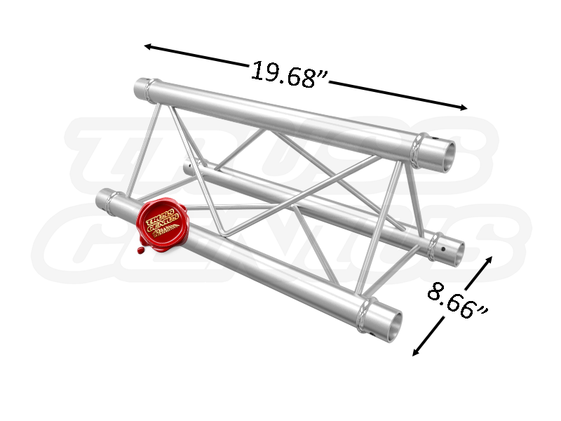 TR96101 F23 Triangular Aluminum Truss Dimension F23050