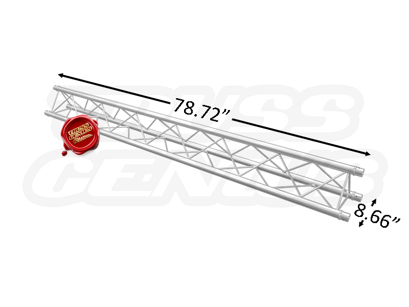 TR96104 F23 Triangular Aluminum Truss Dimension F23200