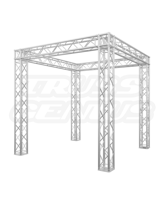 10' x 10' Truss Trade Show Booth - Build 4-In-1 Modular Booth Designs