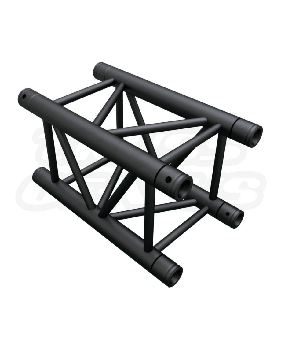 SQ-4109 Black Global Truss 1.64-Foot / 0.5-Meter F34 Matte Black Truss Straight Section