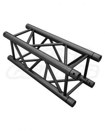 SQ-4110-75 Black Global Truss 2.46-Foot / 0.75-Meter Matte Black F34 Truss Straight Section