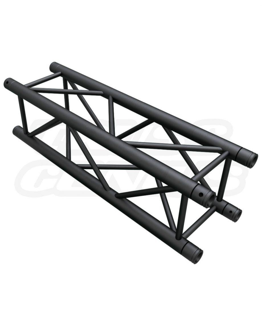 SQ-4110 Black Global Truss 3.28-Foot / 1.0-Meter Matte Black F34 Truss Straight Section