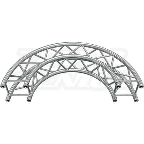 how to build circle truss