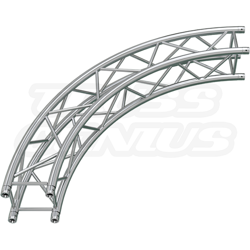 SQ-C3-90 F34 Square Truss 90 Degree Arc