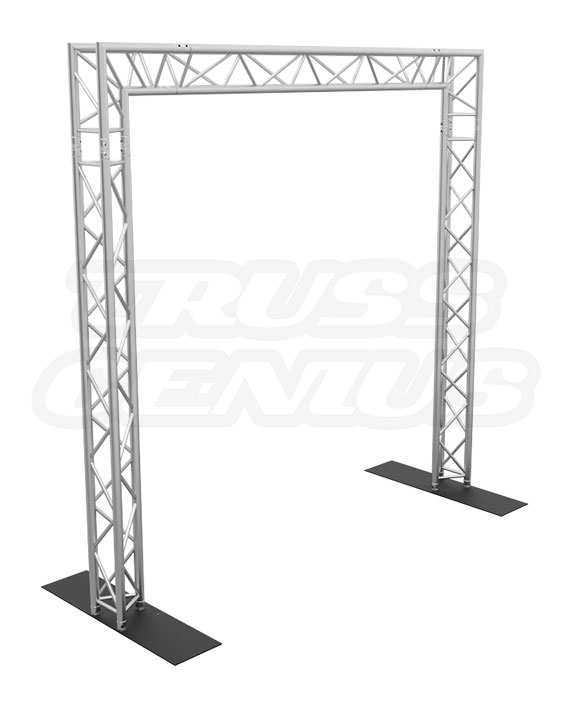 10x10 Truss Goal Post System made with F33 Triangular Trussing