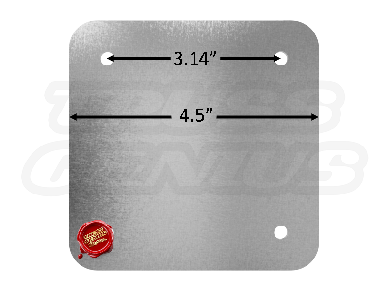 SQ-F14 Base Plate Dimensions