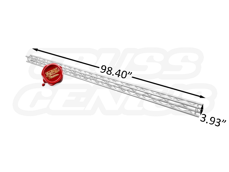 SQ-F14250 F14 Mini Square Aluminum Truss Dimension F14250