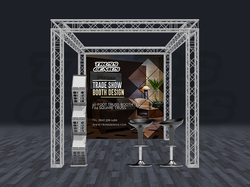Trade Show Exhibit Display Booth 10x10 F24-101