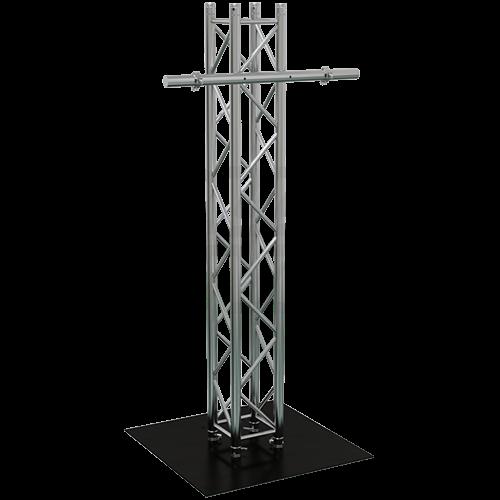 gt plasma mt 12 lcd led tv truss mount stage lighting equipment. Black Bedroom Furniture Sets. Home Design Ideas