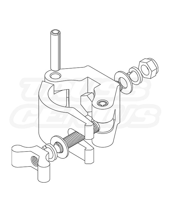 X-Pro Clamp CJS5003(750) Exploded View