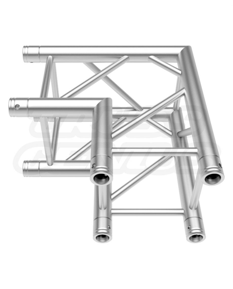 SQ-4121 Global Truss F34 2-Way 90-Degree Fixed Angle Corner F34C21