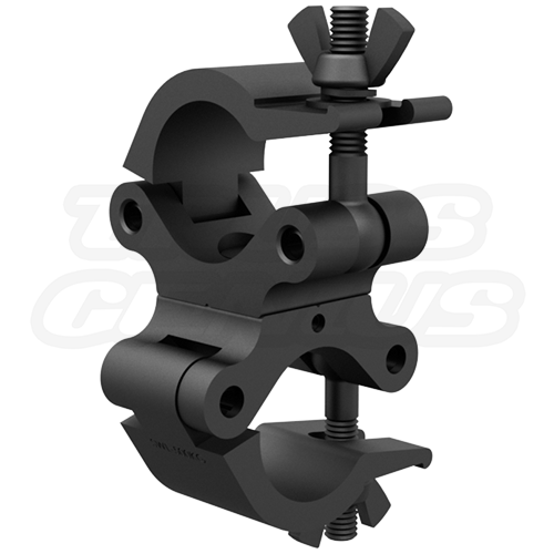 Clamp On Duals : Black pro swivel clamp heavy duty inch dual truss