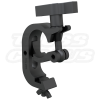 Black Trigger Clamp2-Inch Hook Style Clamp With Large T-Handle Makes Hanging Your Lighting Fixtures A Breeze | 50mm Black Truss Clamp CJS5008B