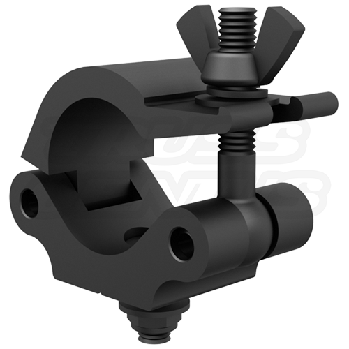 Black Pro Clamp| All Time Best Selling 2-Inch Heavy Duty Wrap Around Truss Clamp CJS5003B