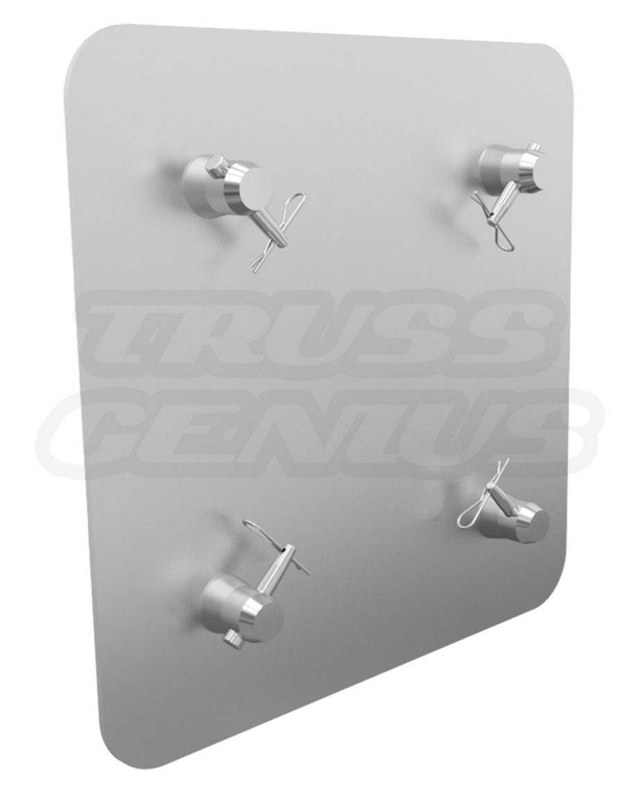 SQ-4137H Global Truss 16-Inch Aluminum Base Plate for F34 Trussing