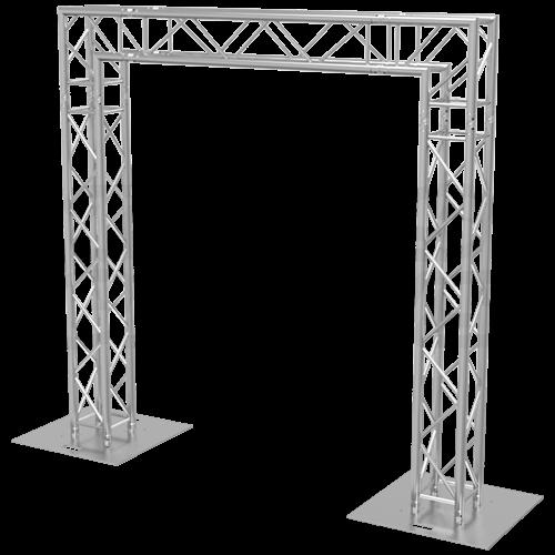 goal post f34 square truss system 10x10. Black Bedroom Furniture Sets. Home Design Ideas