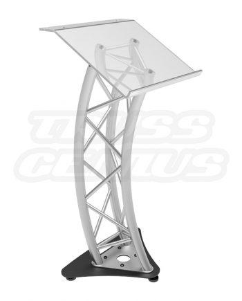 Plexiglass Truss Lectern - Global Truss Podium with Acrylic Top Presentation Furniture