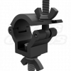 JR-Clamp Matte Black 35mm 1.37-Inch Light Duty Wrap Around Clamp for F23 and F24 Trussing