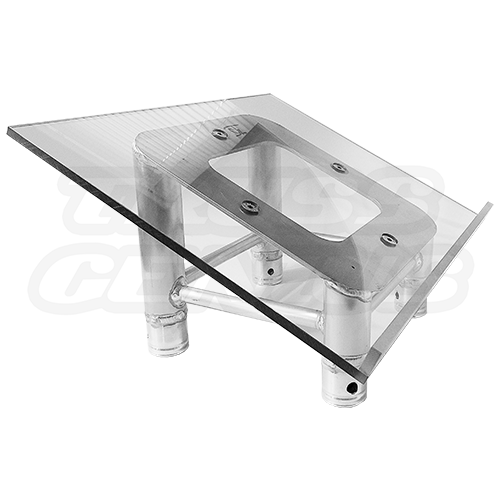 SQ-Plexi LT | Plexiglass Acrylic Top Plate for Truss Lectern | Global Truss Podium