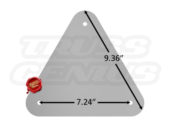TR96129 Base Plate Dimension