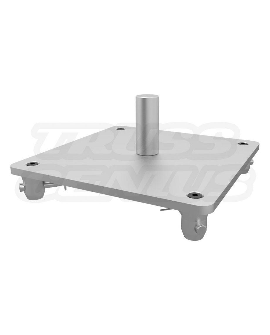 SQ-4137 SAP Global Truss Aluminum Base Plate with Speaker Mount