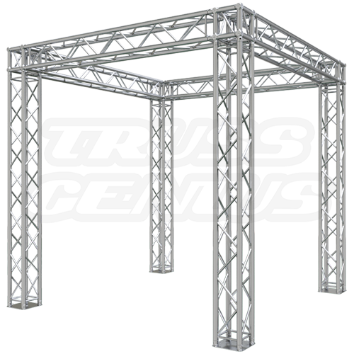 Trade show booth truss systems