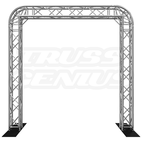 Goal Post F34 Square Truss System with Rounded Corners 10x10