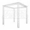 10x10 Truss Trade Show Exhibit Booth Complete Kit With F23 Trussing
