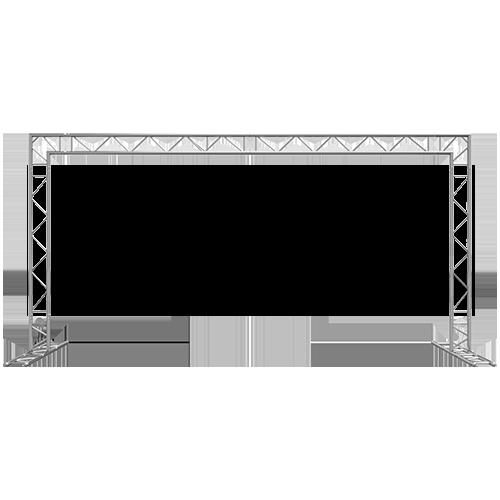 Goal Post F32 I-Beam Truss System 10x20