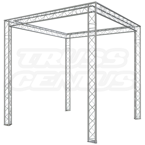 10x10 Trade Show Truss Exhibit Booth Complete Kit With F23