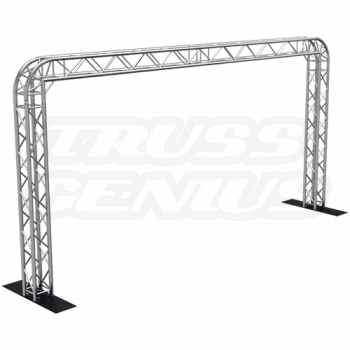 Goal Post F34 Square Truss System with Rounded Corners 10x20