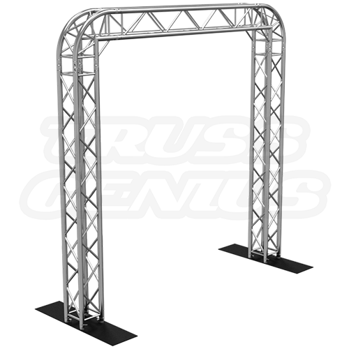 goal post f34 square truss system with rounded corners