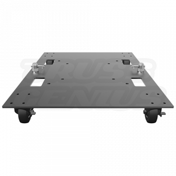 Base Plate 24x30WC - Global Truss Steel Base with Casters and Handles