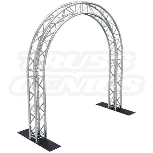 Goal Post F34 Square Truss System Circular Arch 10x10