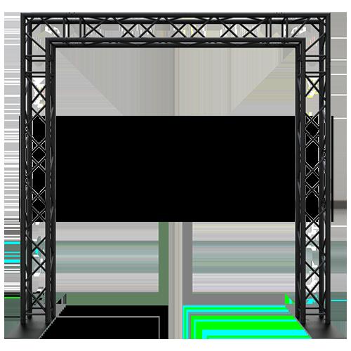 10x10 Truss Goal Post – Portable 10x10 Truss System, Stage Lighting  Equipment