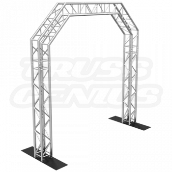 Goal Post F34 Square Truss System Octagon Arch 10x10