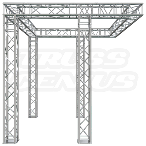 Truss Trade Show Exhibit Display Booth 10x10 F34-104