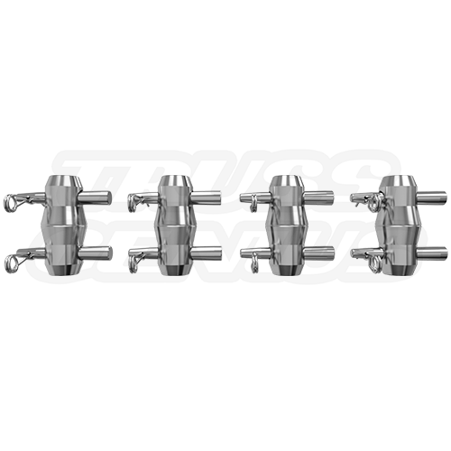 1 Set of Connecting Hardware for F44P Square Truss (Included)